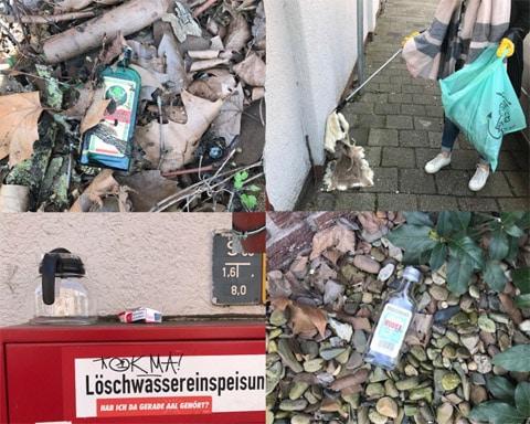 Eindrücke von Bremen räumt auf