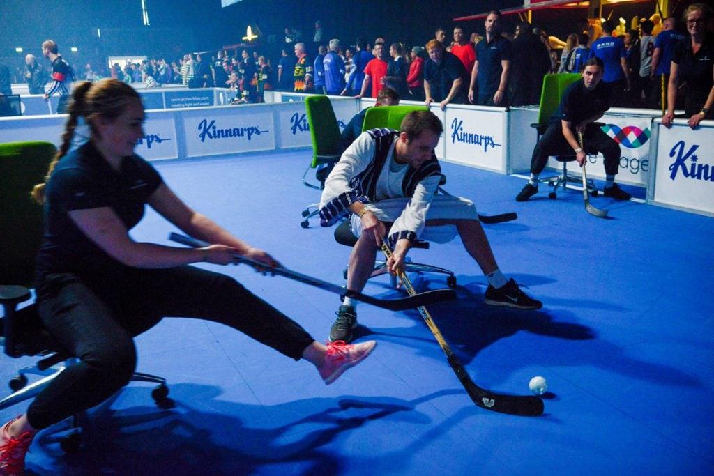 Hockey auf Buerostuehlen_Chair-Hockey World Championship_3 (c) Miklas Wrieden fuer BKE Fislage