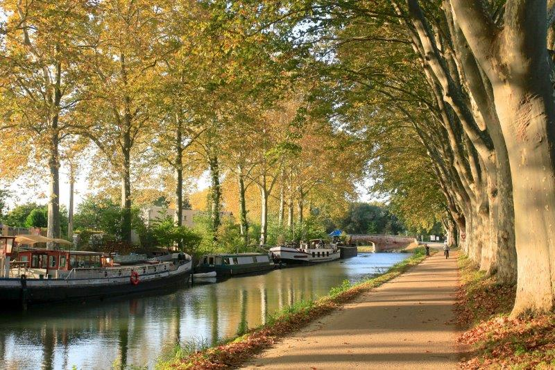 Canal du Midi bei Toulouse (pixabay - creative commons CC0)